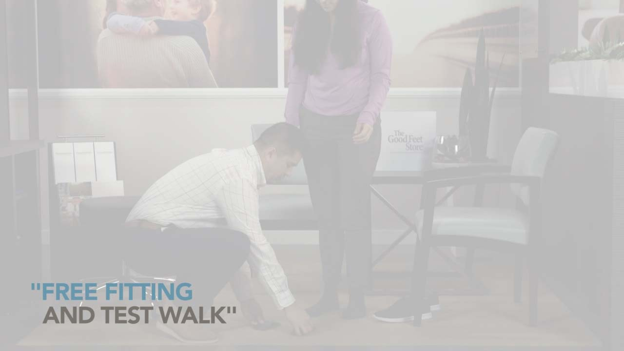 Free Fitting And Test Walk