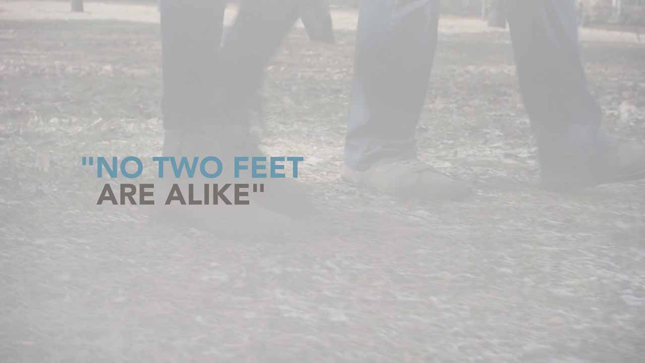 No Two Feet Are Alike